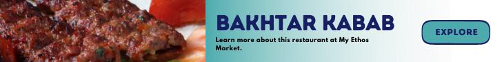 Bakhtar Kabab Banner