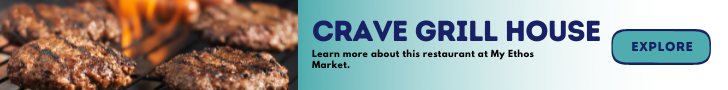 Crave Grill House Banner