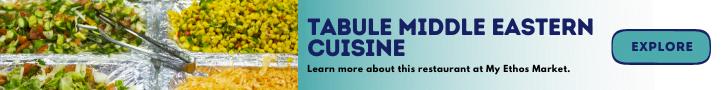 Tabule Middle Eastern Cuisine Banner